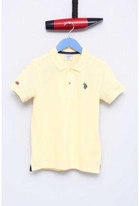 U.S. Polo Assn. Erkek Çocu TP01IY7 T-Shirt Sarı