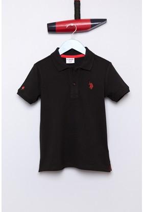 U.S. Polo Assn. Erkek Çocuk Tp01İy7 T-Shirt Siyah