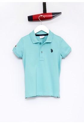 U.S. Polo Assn. Erkek Çocuk TP01IY7 T-Shirt Mint
