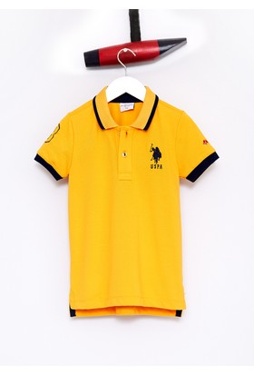 U.S. Polo Assn. Erkek Çocuk Sd01İy7 T-Shirt Sarı