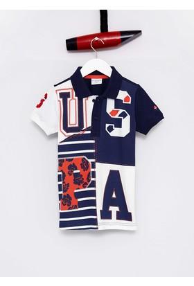 U.S. Polo Assn. Erkek Çocuk Sady T-Shirt Lacivert
