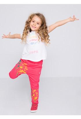U.S. Polo Assn. Vars Kız Çocuk Örme Pantolon