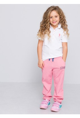 U.S. Polo Assn. Tp01İy07 Kız Çocuk T-Shirt