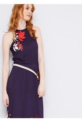 U.S. Polo Assn. Kadın Carmen Elbise Lacivert