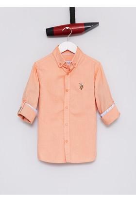 U.S. Polo Assn. Erkek Çocuk Cedcolorkids17Y Gömlek Kırmızı