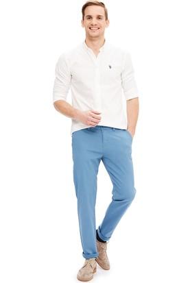 U.S. Polo Assn. Erkek Krl016S-Ing Pantolon Mavi