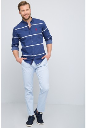 U.S. Polo Assn. Erkek Krl017Y-İng Pantolon Açık Mavi