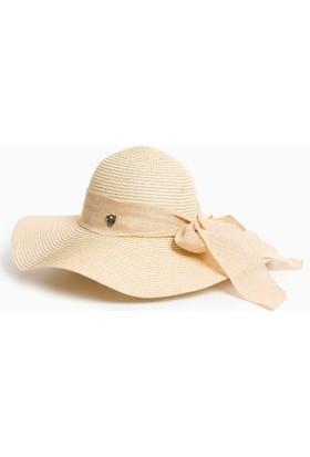 U.S. Polo Assn. Kadın Bellaiy7 Şapka Bej