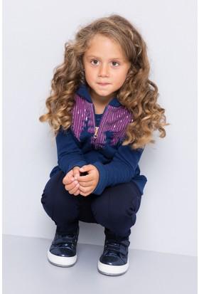 U.S. Polo Assn. Kız Çocuk Sereniti Sweatshirt Lacivert