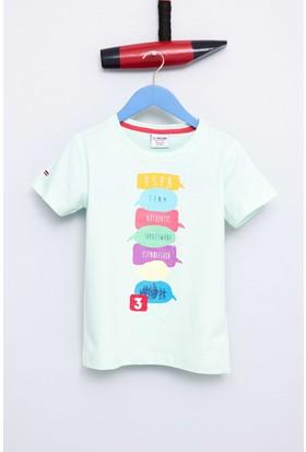 U.S. Polo Assn. Erkek Çocuk Tonia T-Shirt Yeşil