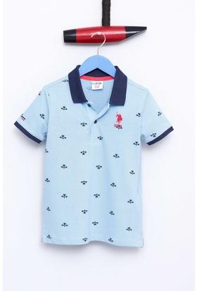 U.S. Polo Assn. Erkek Çocuk Jesse T-Shirt Mavi