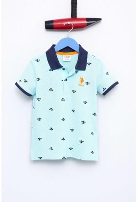 U.S. Polo Assn. Erkek Çocuk Jesse T-Shirt Yeşil