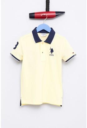 U.S. Polo Assn. Erkek Çocuk Esd01Iy7 T-Shirt Sarı