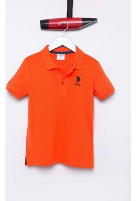 U.S. Polo Assn. Erkek Çocuk Etp01Iy7 T-Shirt Turuncu