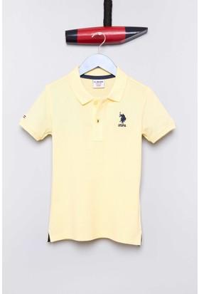 U.S. Polo Assn. Erkek Çocuk Etp01Iy7 T-Shirt Sarı
