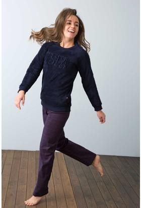 U.S. Polo Assn. Kadın 15929P Pijama Lacivert