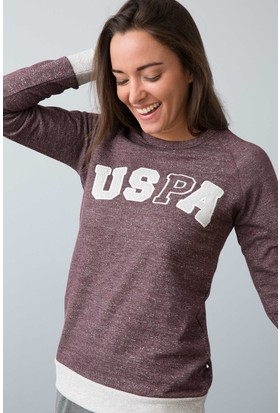 U.S. Polo Assn. Kadın 15957P Pijama Kırmızı