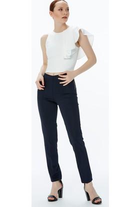 Fullamoda Fermuarlı Pantolon