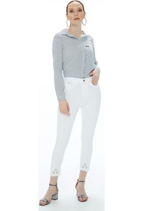 Fullamoda İşlemeli Pantolon