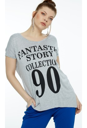 Fullamoda Baskılı Tshirt