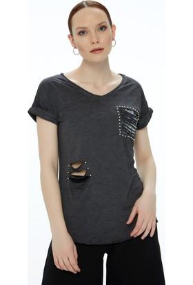 Fullamoda Lazer Kesim Tshirt