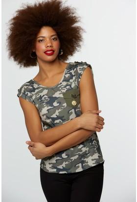 Fullamoda Kamuflaj Tshirt