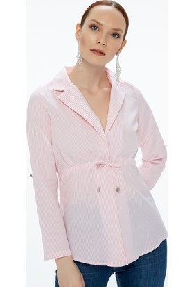 Fullamoda Çizgili Ceket