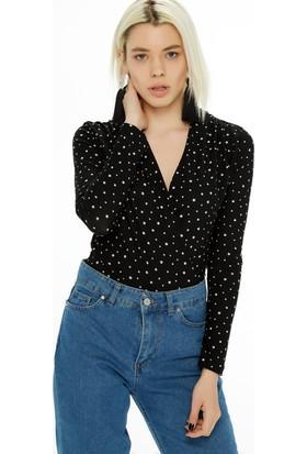 Fullamoda Çıtçıtlı Bluz