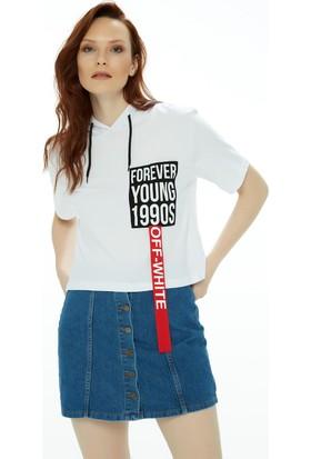 Fullamoda Kapüşonlu Tshirt