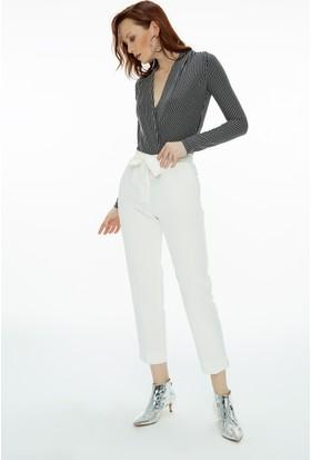 Fullamoda Yırtmaçlı Pantolon