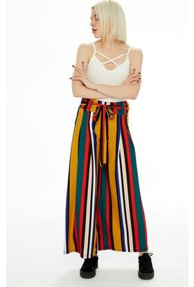Fullamoda Renkli Pantolon
