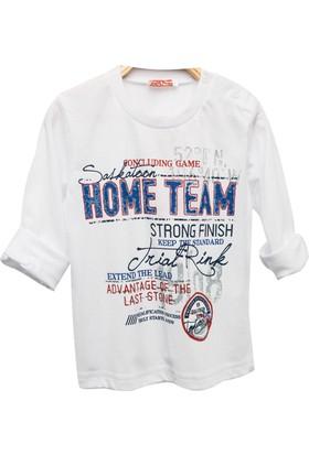 Zeyland Erkek Çocuk Beyaz T-Shirt -81Kl1164