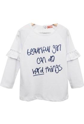 Zeyland Kız Çocuk Beyaz Sweat Shirt -81Kl2161