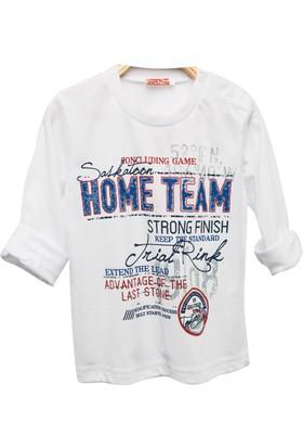 Zeyland Erkek Çocuk Beyaz T-Shirt -81Kl3164
