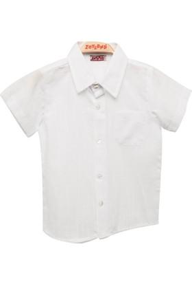 Zeyland Erkek Çocuk Beyaz Gömlek -81Kl3181