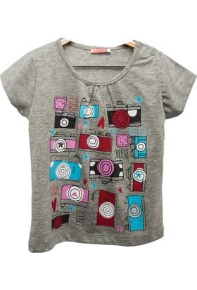 Zeyland Kız Çocuk Gri - Melanj T-Shirt -81Kl4151