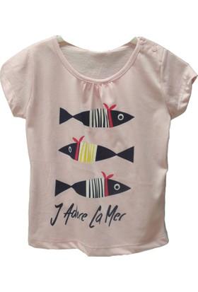 Zeyland Kız Çocuk Pembe T-Shirt -81Kl4151