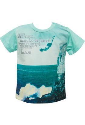 Zeyland Erkek Çocuk Yeşil T-Shirt -81M1Lgo52