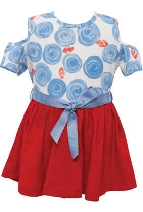 Zeyland Kız Çocuk Kırmızı Elbise -81M2Dfn37