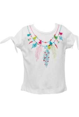Zeyland Kız Çocuk Beyaz T-Shirt -81Z2Hnt54