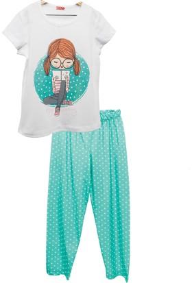 Zeyland Kız Çocuk Yeşil Pijama Takımı -81Z4Pjm235