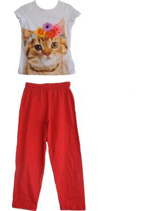 Zeyland Kız Çocuk Kırmızı Pijama Takımı -81Z4Pjm237-K