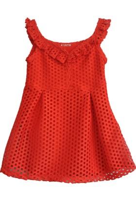 Zeyland Kız Çocuk Kırmızı Elbise -81Z4Rpt32
