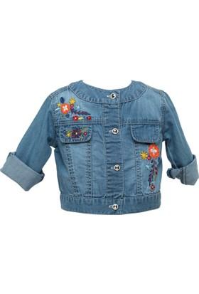Zeyland Kız Çocuk Mavi Ceket -81Z1Jry21