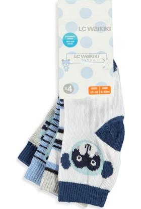 LC Waikiki Erkek Bebek Çorap 4'lü