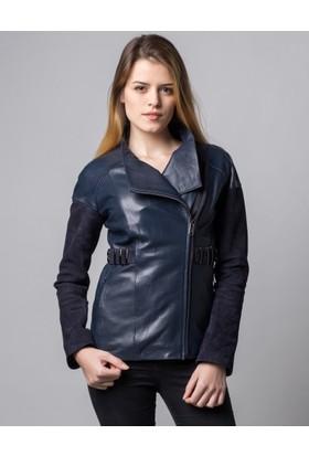 Deriderim K-18327 Kadın Lacivert Ceket