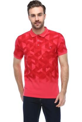 Brango 40133-6 Bautista Desenli Polo Yaka Pembe T-Shirt