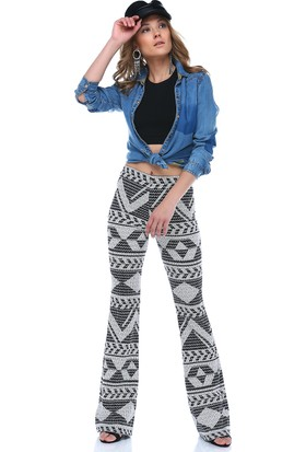 Denimakinası Kadın Lacivert Pantolon