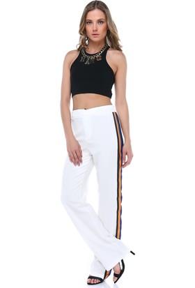 Denimakinası Kadın Beyaz Pantolon