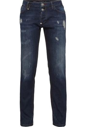 Philipp Plein Jeans Erkek Kot Pantolon P18C Mdt0877 Pde001N 14S6